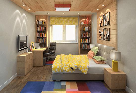Дизайн для маленькой двухкомнатной квартиры