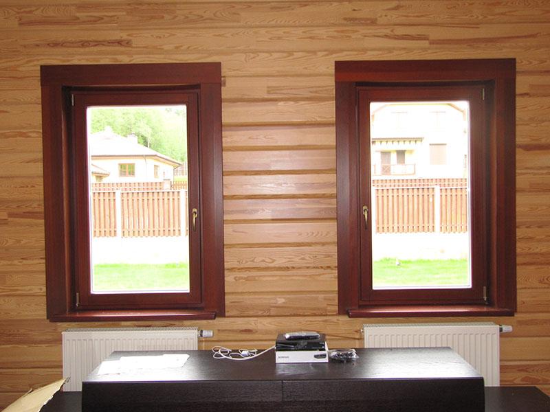 внутренние деревянные наличники на окна фото слоя клея